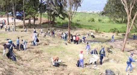 150 personas limpiaron la Reserva Nacional Los Diques