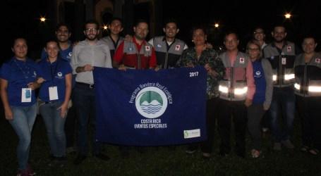 Cruz Roja Costarricense obtiene galardón de Bandera Azul Ecológica en EcoRomería 2017