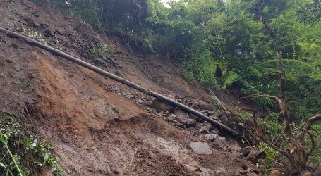 Nuevo derrumbe deja sin agua a comunidades cartaginesas