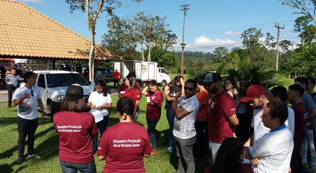 Turrialba fue sede del Encuentro Provincial de Juventudes