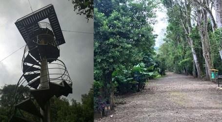 Parque cartaginés estrena torre de avistamiento de aves