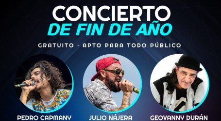 Artistas nacionales se presentarán este fin de semana en el Polideportivo de Cartago