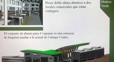 Oreamuno tendrá estación de tren