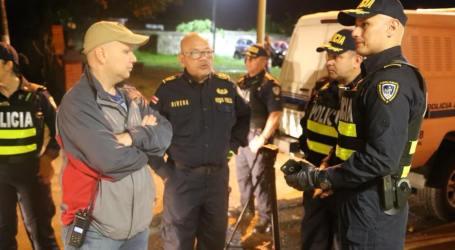 Megaoperativos de la Fuerza Pública dejan 48 detenidos en Cartago