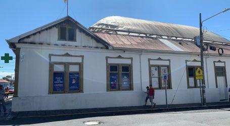 Fuego afectó únicamente techo de antigua Botica Central en Cartago