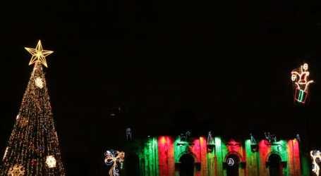 Más de 110 mil luces iluminan la Navidad en Cartago