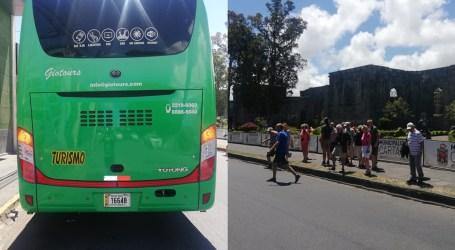 Fuerza Pública intervino excursión de turistas extranjeros en Cartago