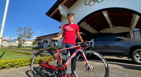 Ciclista cartagines Kevin Rivera no viajará a Italia
