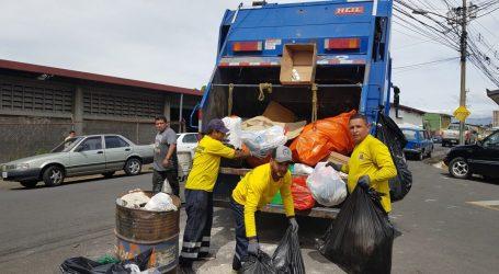 Este será el horario de recolección de basura durante Semana Santa en Cartago
