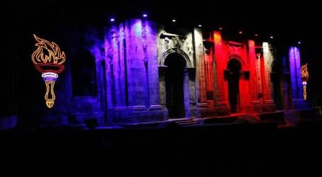 Cartago se ilumina en conmemoración del Bicentenario