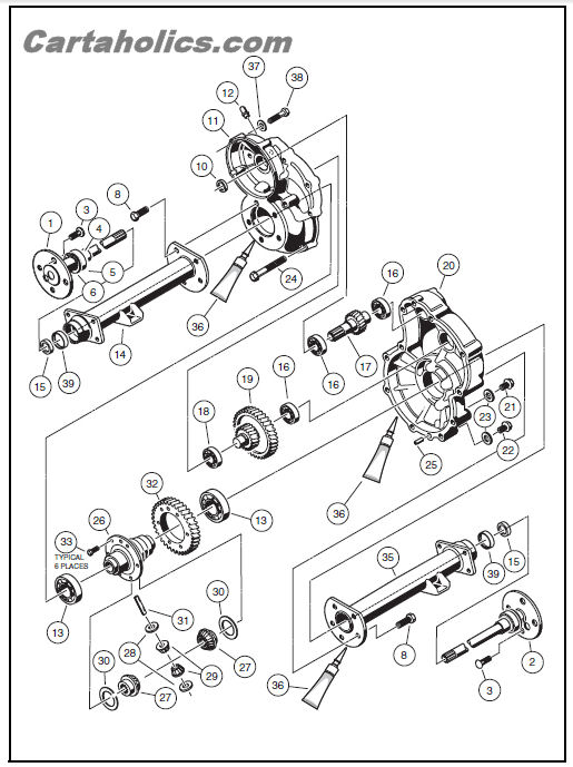 Cartaholics Golf Cart Forum Gt Club Car Gas Wiring Diagram