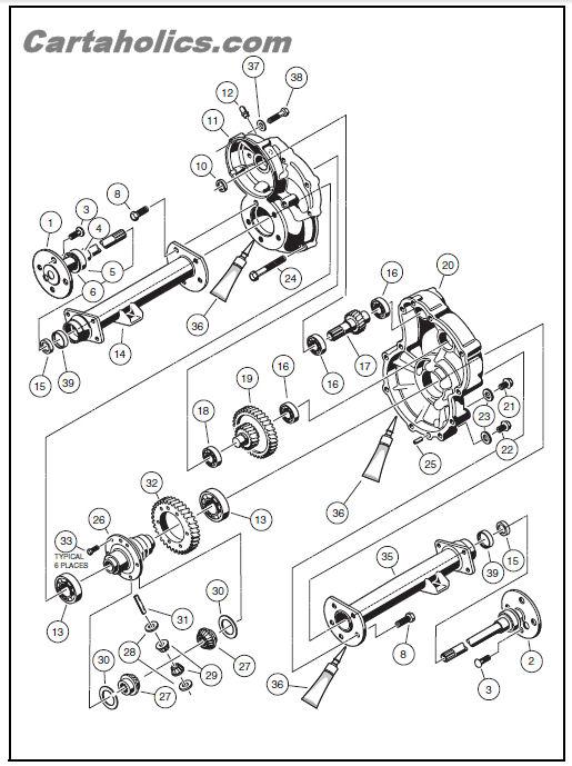 1993 ez go golf cart wiring diagram