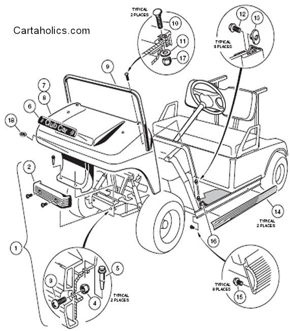 Cartaholics Golf Cart Forum > Need Info on Club Car Body