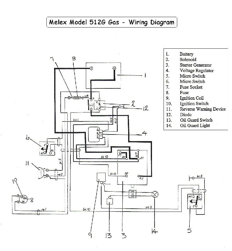 Ez Go Gas Golf Cart Voltage Regulator Wiring Diagram