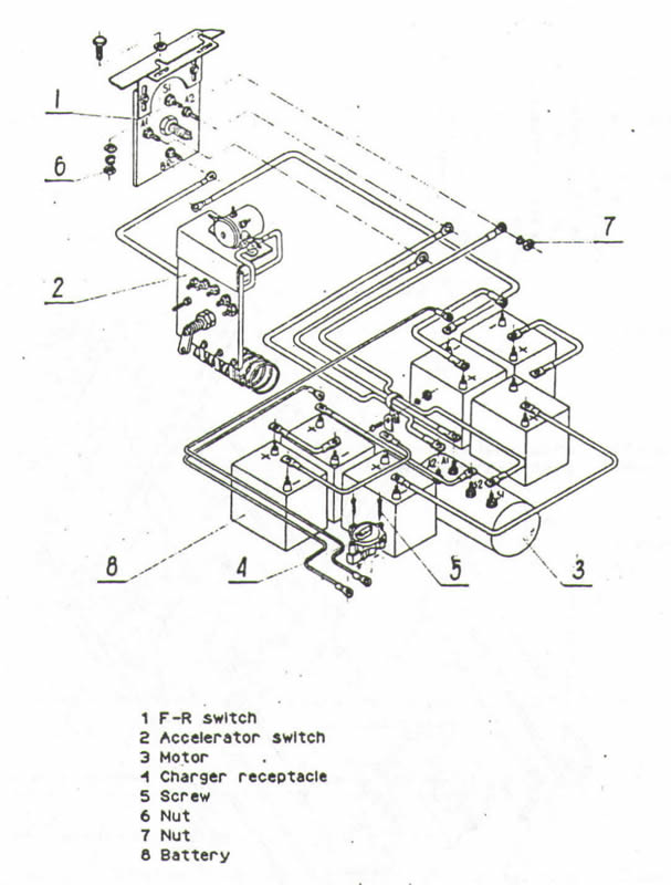 melex 252 golf cart wiring diagram