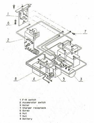MELEX Golf Cart Wiring Diagram  Resistor  Models 112, 212, 152,252 | Cartaholics Golf Cart Forum