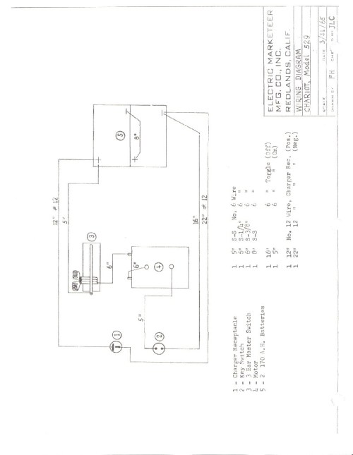 small resolution of westinghouse marketeer wiring diagram cartaholics golf cart forumwestinghouse marketeer wiring diagram