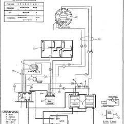 Ezgo Golf Cart 36 Volt Battery Wiring Diagram Light Reactions To Label Cartaholics Forum Gt Parcar 48 Volts