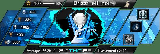 Trophées de Drizzt_elf_noir