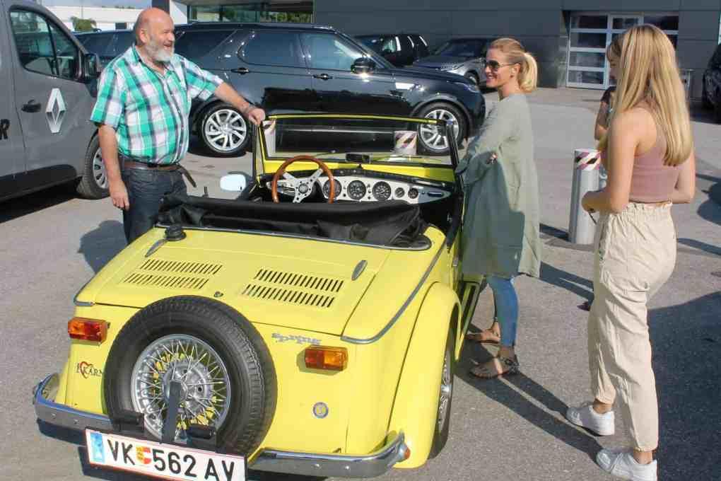 Ausflug des CAR Teams Ferlach am 12. September 2020 mit Gleichmäßigkeitsprüfung anstelle des abgesagten sms-Classic-Sprints - Ruckhofer Arno auf Funcar