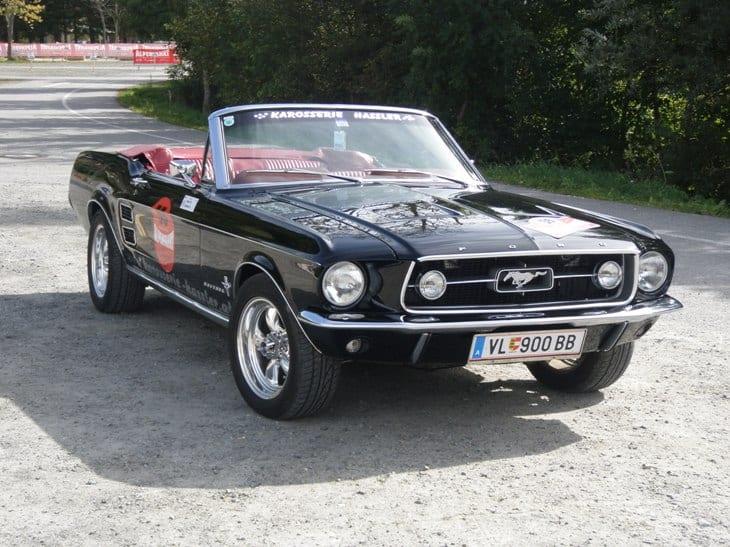 HASSLER Thomas, Mustang Convertible 289 V8