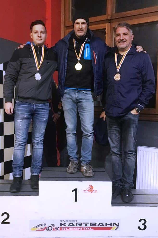 CTF Winter-Kart-Cup 2019/2020, 1. Lauf am 19. Dez. 2019