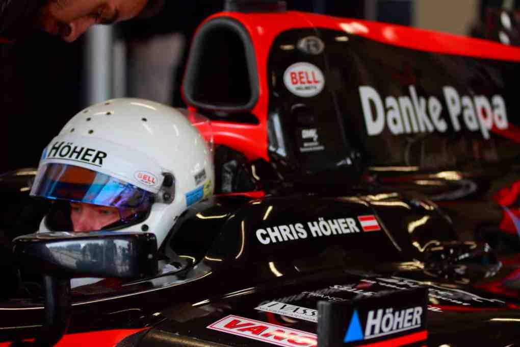 2020 CAR Team Ferlach Hoeher Chris Mazaryk Rennen Boss Serie