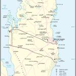 Map Qatar Country Map Qatar