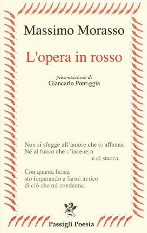 Massimo Morasso-L'opera in rosso-copertina