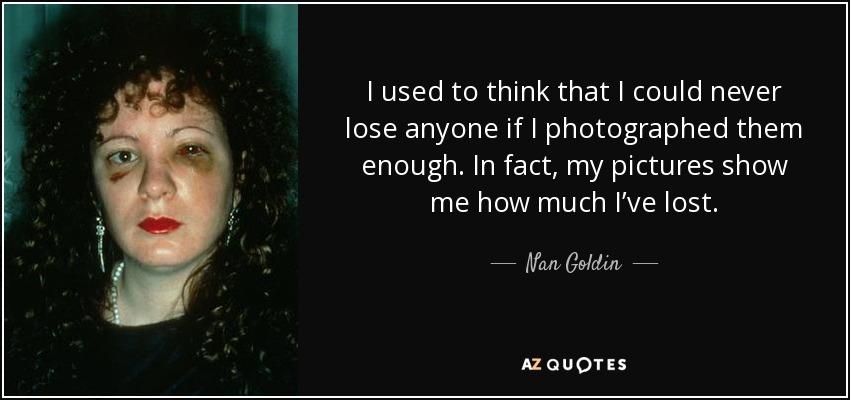 Inversi fotografici della natura umana nan goldin vs anne sexton carteggi letterari - Nan goldin il giardino del diavolo ...