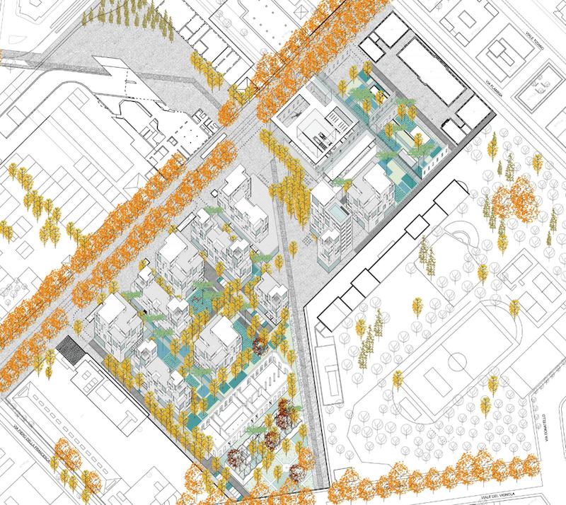 Il progetto vincitore dello Studio Viganò per il Quartiere Città della scienza