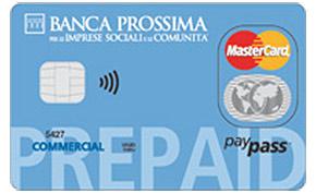 Carta prepagata Banca Prossima Prepaid
