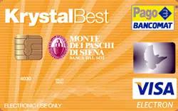 Krystal Best Mps Carta Prepagata Caratteristiche Costi E