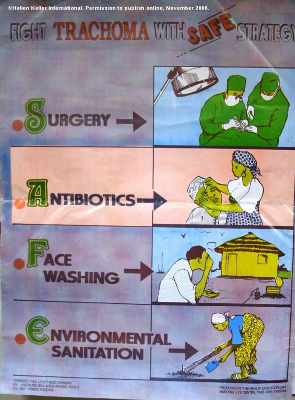 Trachoma Control Program - Health Poster Materials