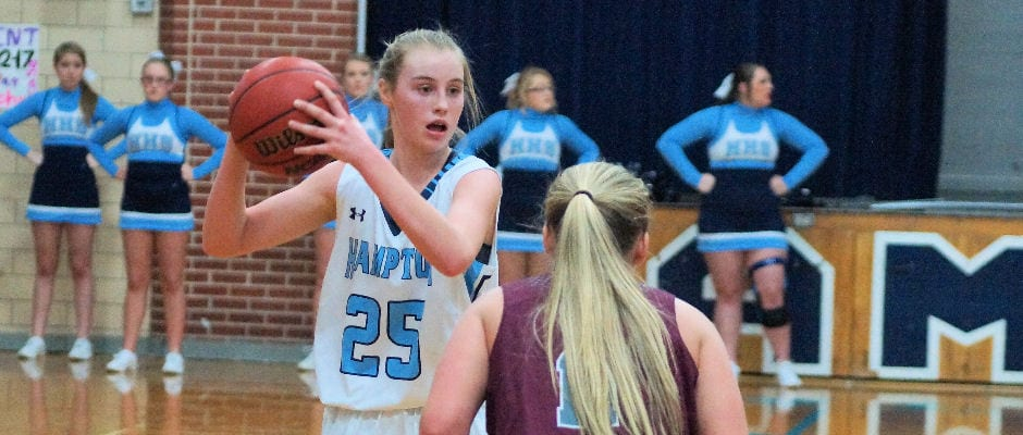 Hampton unable to outlast Lady Rebels