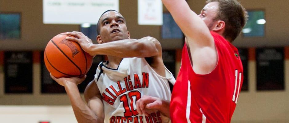 Milligan men's basketball holds off Bryan