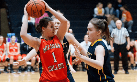 Milligan WBB rides halftime comeback to victory