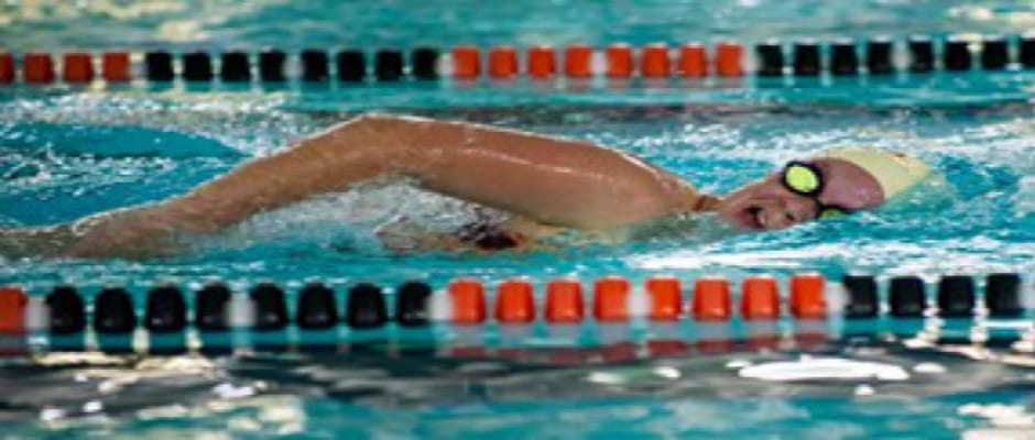 Milligan swim wraps up regular season