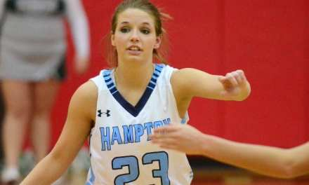 Hampton girls earn spot in district title game