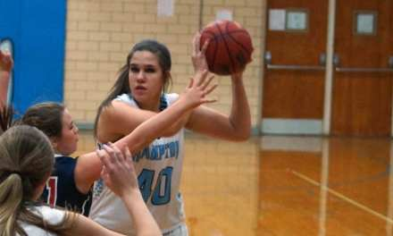 Hampton sinks Washburn to advance