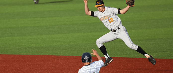 Tennessee baseball doubles ETSU in win
