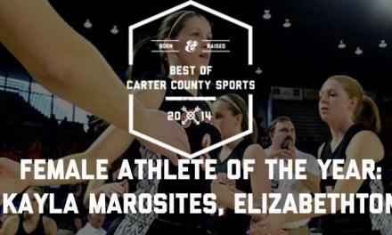 Marosites named Female Athlete of the Year