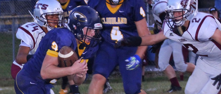 Cloudland rolls in shortened homecoming game