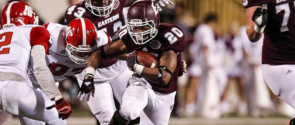 Thomas leads EKU to win over Birchfield, Govs