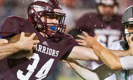 Warriors celebrate soggy Homecoming with win