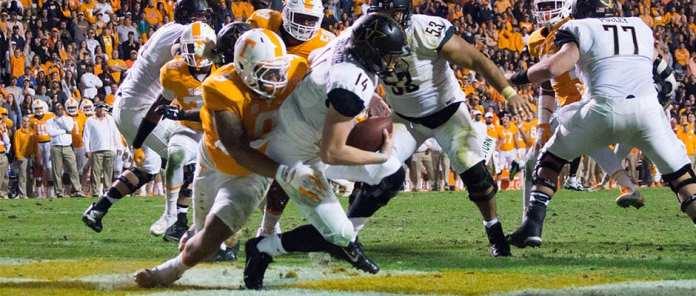 Vols roll past Vanderbilt on Senior Day