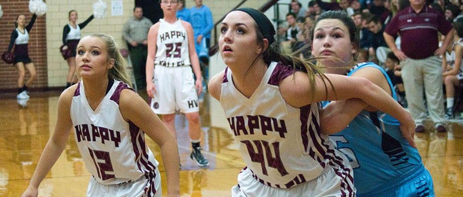 Hampton gets sweep of Happy Valley