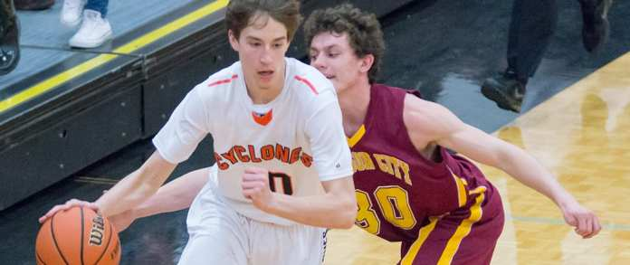 Cyclones advance with upset on road
