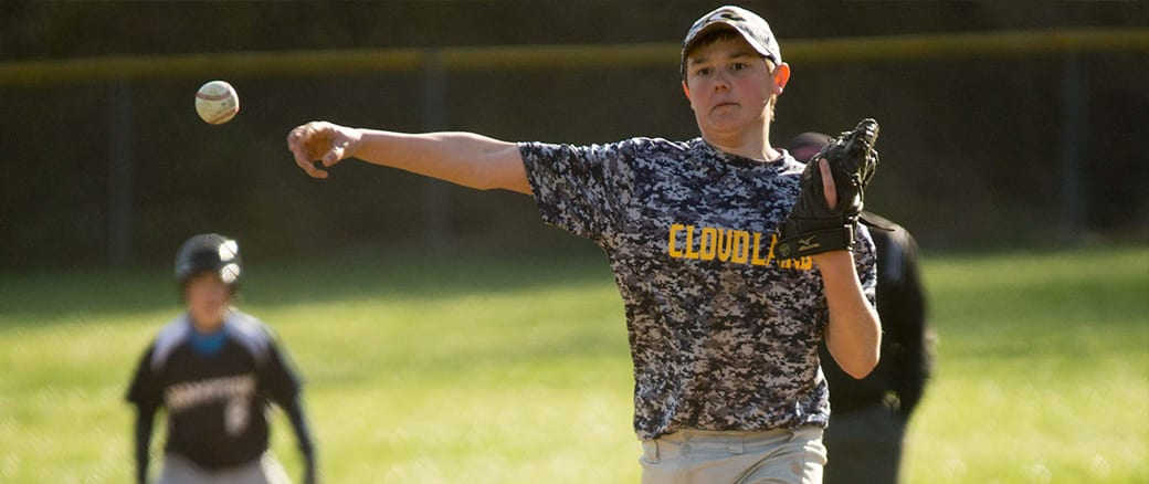 Photo Gallery: Hampton at Cloudland MS Baseball