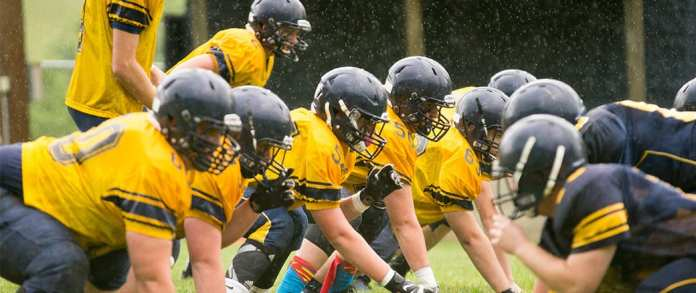 Photo Gallery: Cloudland Blue and Gold Game